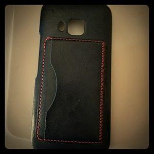 HTC One M9 case w/ cardholder